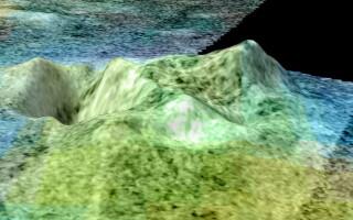 Titan - vulcanii de gheata