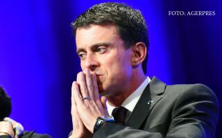 Manuel Valls, premierul Frantei