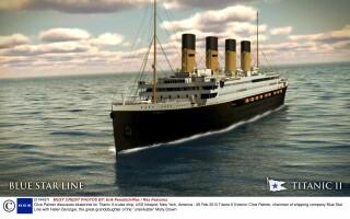 Un magnat australian a aratat primele imagini cu Titanic 2: cum arata proiectul sau nebun ...