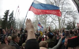 Proteste pro-Rusia, la Sevastopol