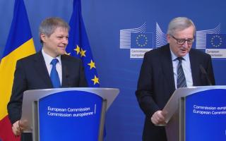 Dacian Ciolos, Jean Claude Juncker