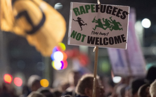 refugiati protest