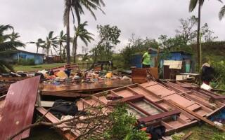 ciclon Fiji - Agerpres