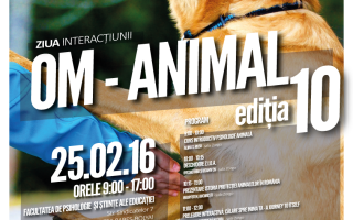 Editie jubiliara a Zilei Interactiunii Om-Animal, desfasurata la UBB