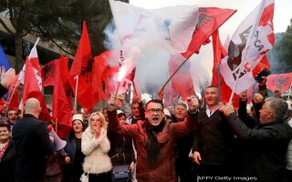 proteste Albania - AFP, Getty