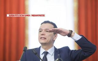 premierul Sorin Grindeanu