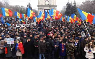 miting Chisinau
