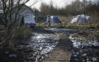 Jungla Calais - Agerpres
