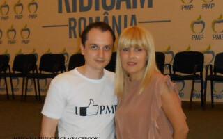 Marius Cracea si Elena Udrea