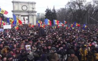 Chisinau protest