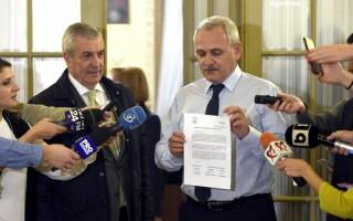 Liviu Dragnea si Calin Popescu Tariceanu