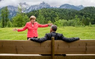 merkel, obama - agerpres