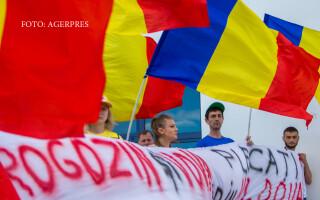 Moldova, protestatari impotriva lui Rogozin