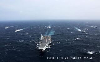 flota chineza in marea chinei de sud