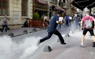 Violente la Marsul Gay Pride din Istanbul - 2