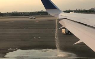 Clipe de groaza pentru pasagerii unui zbor a companiei United Airlines