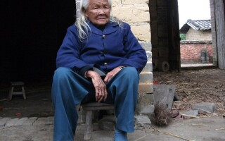 batrana trezita din morti China