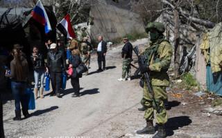 soldat rus in Siria