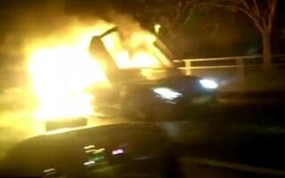 Lamborghini, incendiu