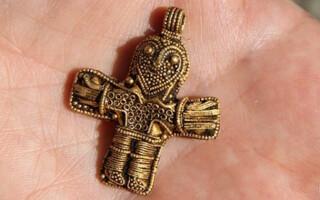 Crucifix - Vikingemuseet Ladby