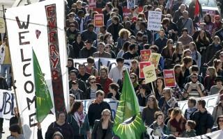 proteste migranti