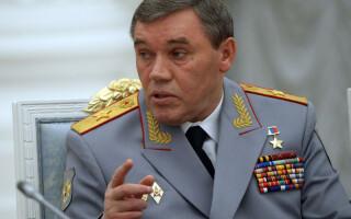 Valeri Gherasimov, seful statului mahor rus