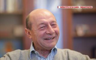 Presedintele PMP, Traian Basescu, acorda un interviu