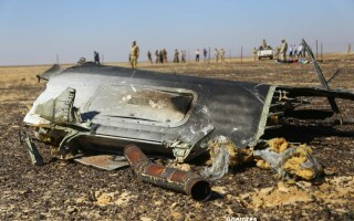 avion rusesc prabusit in Egipt