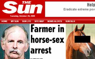 Sex mortal cu un cal, la ferma animalelor abuzate!