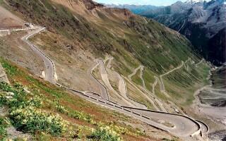 Stelvio Pass, Italia