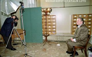 Corneliu Vadim Tudor la Senat in 2000