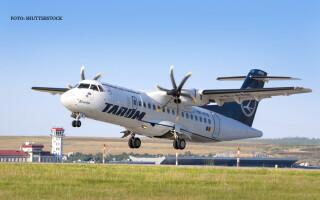 avion TAROM decoleaza pe aeroportul din Chisinau