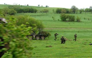 cover exercitiu Brigada 2 infanterie rovine