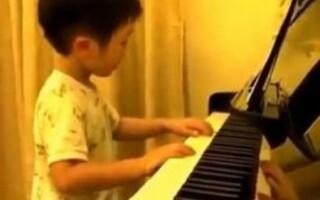 Pianist genial de cinci ani