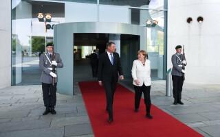 Klaus Iohannis si Angela Merkel