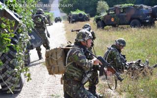 """Exerciţiul multinaţional """"Combined Resolve VII"""" din Germania"""