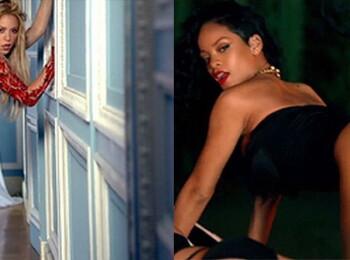 Shakira, Rihanna