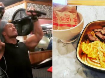 Cum se pregateste The Rock pentru rolul din Fast & Furious 8. Dieta cu 6.000 calorii pe zi si antrenamente dure