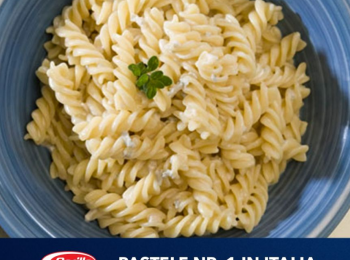 Fii si tu un Masterpasta: Barilla Fusilli cu sos Gorgonzola