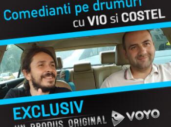Vio si Costel revin pe Voyo cu un concept nou - comedie in masina. Vezi AICI cel mai nou show de stand-up comedy: