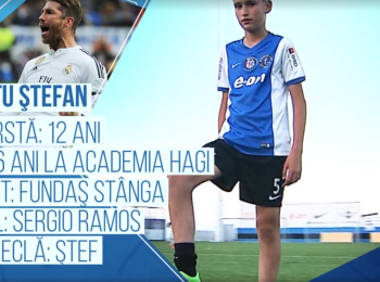 Campionii Viitorului | Pustiul de 12 ani care vrea sa bata in viitor recordul de transfer al lui Chiriches: e fundas si-l are ca idol pe Sergio Ramos