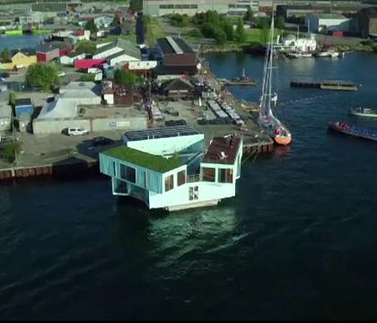 Case plutitoare amenajate in containere solutia ieftina for Cat costa intretinerea unei piscine