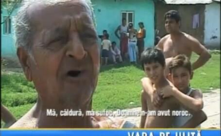Romania sub cod portocaliu de canicula. Localnicii din sudul tarii s-au refugiat in carciumi. Faceti cunostinta cu domnul Capone