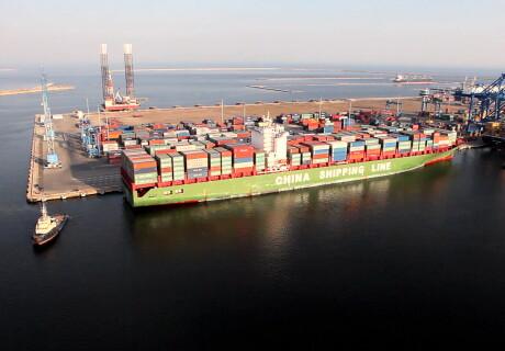 portul din Constanta