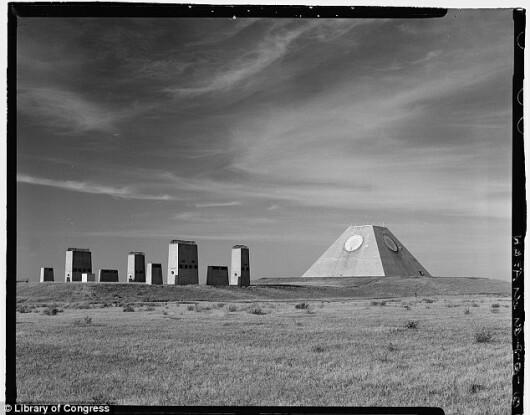Nekoma, piramide