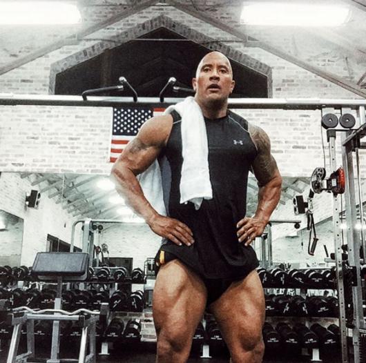 The Rock nu sare niciodata peste ziua de picioare: