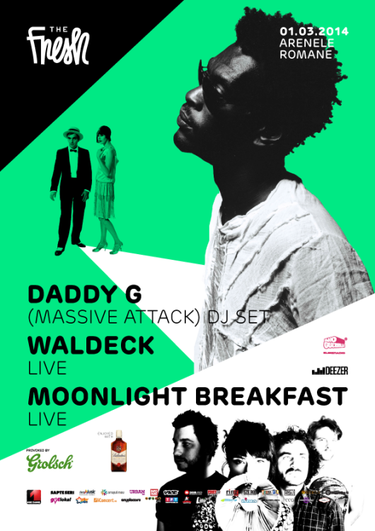 The Fresh - Daddy G (Massive Attack), Waldeck, Moonlight Breakfast - Arenele Romane