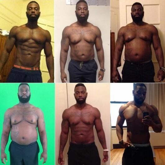 Transformarile incredibile ale acestui barbat! A consumat 8.000 de calorii pe zi timp de 3 luni, apoi a slabit 26kg! Cum arata acum