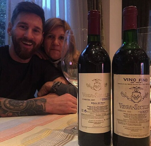 Messi bea doar