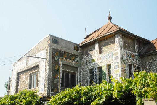 Casa cu scoici din Constanta